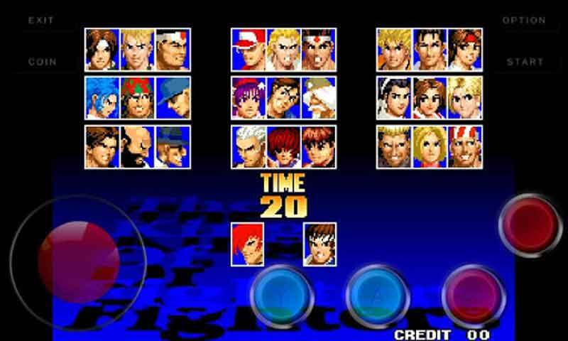 拳皇97iPhone版图片