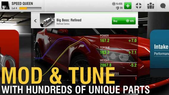 真实赛车iPhone版截图