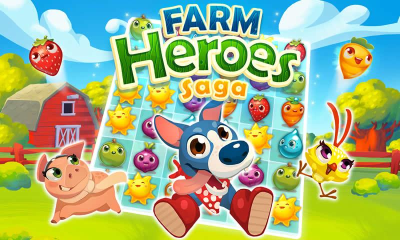 农场英雄传奇iPhone版图片